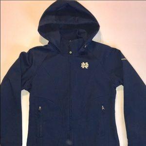 Columbia Notre Dame  full zip hooded jacket